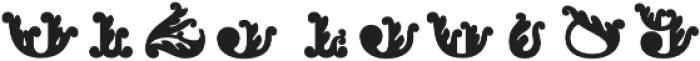 Apple Pie Half Fill Regular otf (400) Font OTHER CHARS