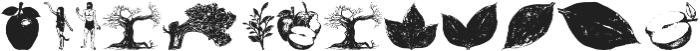 Apple Tree otf (400) Font LOWERCASE