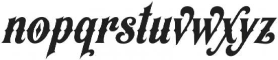 Appleton otf (400) Font LOWERCASE