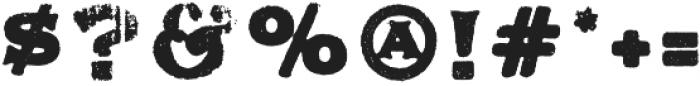 Applewood Alternate Regular otf (400) Font OTHER CHARS