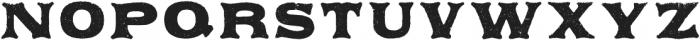 Applewood Alternate Regular otf (400) Font UPPERCASE