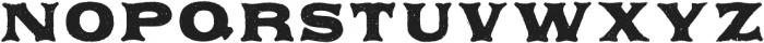 Applewood Alternate Regular otf (400) Font LOWERCASE