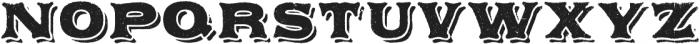 Applewood Regular otf (400) Font UPPERCASE