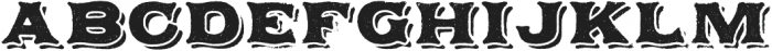 Applewood Regular otf (400) Font LOWERCASE