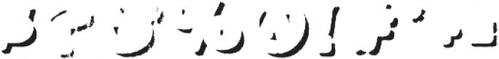 Applewood Shadow Regular otf (400) Font OTHER CHARS
