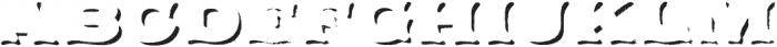 Applewood Shadow Regular otf (400) Font LOWERCASE