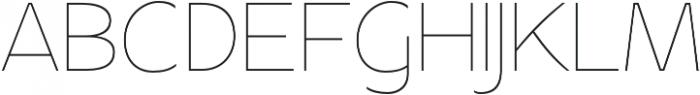 Apricity otf (100) Font UPPERCASE