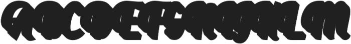 Aprilea Extrude otf (400) Font UPPERCASE