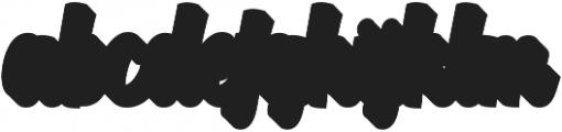 Aprilea Extrude otf (400) Font LOWERCASE