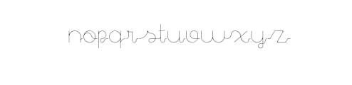 Aparicio Light Premium Font Font UPPERCASE