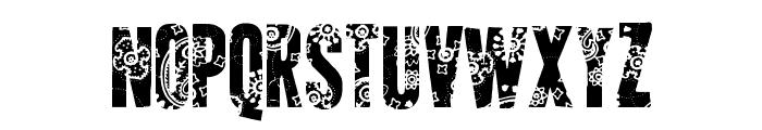 AP Applique Cut Font UPPERCASE