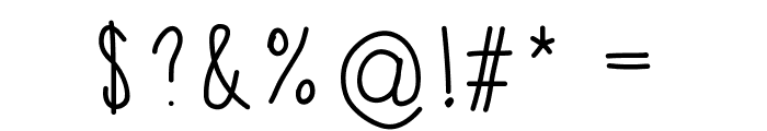 APD Font OTHER CHARS