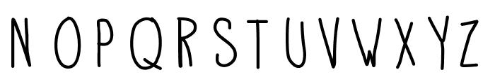 APD Font UPPERCASE