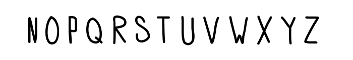 APD Font LOWERCASE