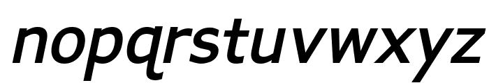 APHont Bold Italic Font LOWERCASE