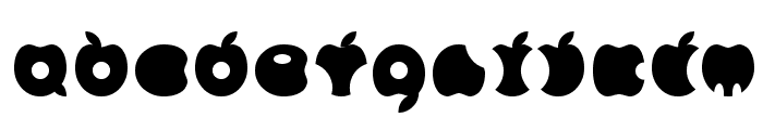 APPLE Font LOWERCASE