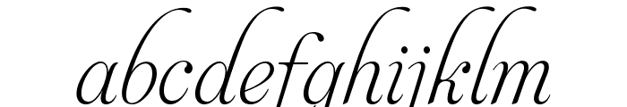 AphroditeSlimPro Font LOWERCASE