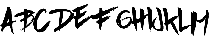 Aple Time Font UPPERCASE