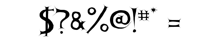 Apocalypse Font OTHER CHARS