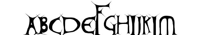 Apocalypse Font UPPERCASE