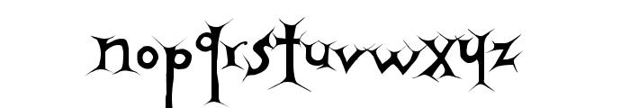 Apocalypse Font LOWERCASE