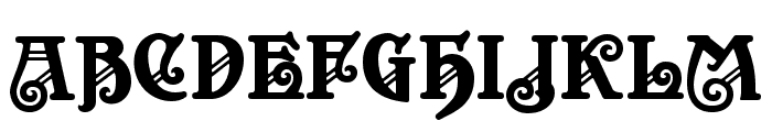 Apollo ASM Regular Font UPPERCASE