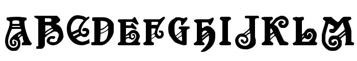 Apollo Regular Font UPPERCASE