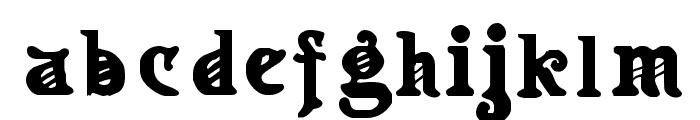 Apollo Regular Font LOWERCASE