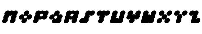 Apollo9 Italic Font UPPERCASE