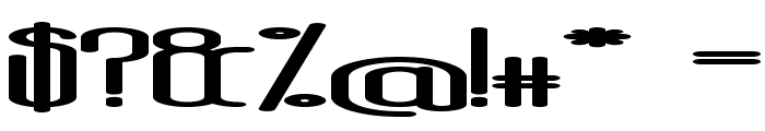 AposiopesisDwarfed Font OTHER CHARS
