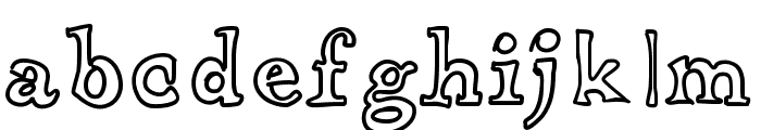 ApothecaryFont Font LOWERCASE