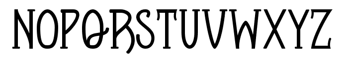 Apotheque Regular Font LOWERCASE