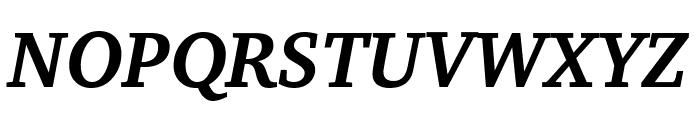 Apparatus SIL Bold Italic Font UPPERCASE