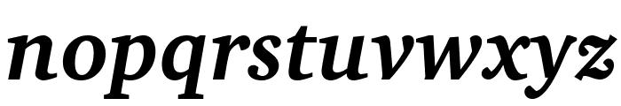 Apparatus SIL Bold Italic Font LOWERCASE