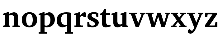 Apparatus SIL Bold Font LOWERCASE