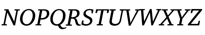 Apparatus SIL Italic Font UPPERCASE