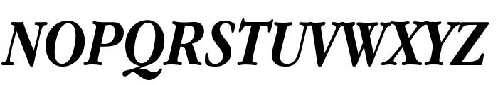Apple Garamond Bold Italic Font UPPERCASE