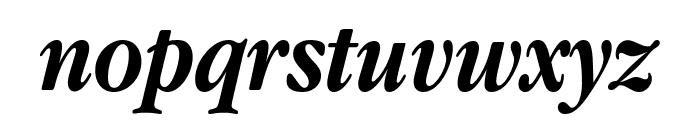 Apple Garamond Bold Italic Font LOWERCASE