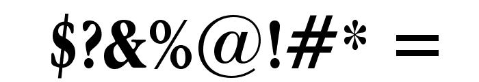 Apple Garamond Bold Font OTHER CHARS