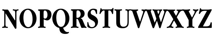 Apple Garamond Bold Font UPPERCASE