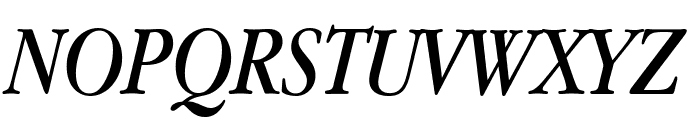 Apple Garamond Italic Font UPPERCASE