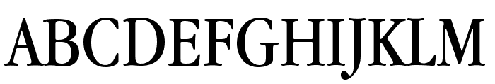 Apple Garamond Font UPPERCASE