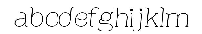Apple Tree Italic Font LOWERCASE