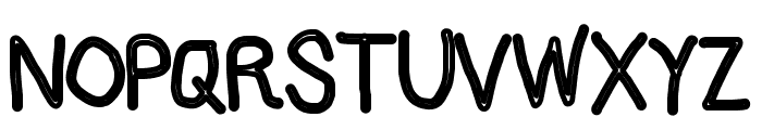 AppleStorm Chalkboard Font UPPERCASE
