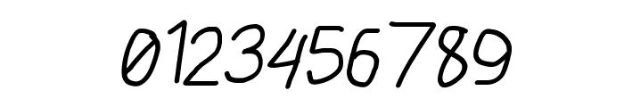 AppleStorm Regular Italic Font OTHER CHARS
