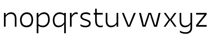 Apricity Font LOWERCASE