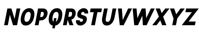 Aprikas Black Italic Demo Font UPPERCASE