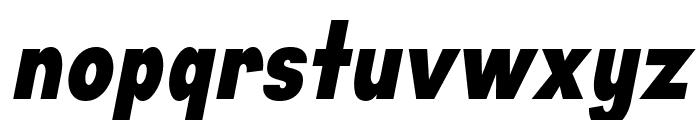 Aprikas Black Italic Demo Font LOWERCASE