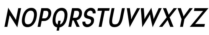 Aprikas Bold Italic Demo Font UPPERCASE