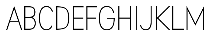 Aprikas Light Demo Font UPPERCASE